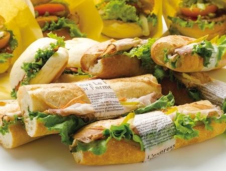 弁当・サンドイッチの調理補助(県庁店)