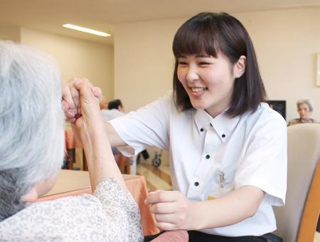 未経験・無資格から始められる介護スタッフ
