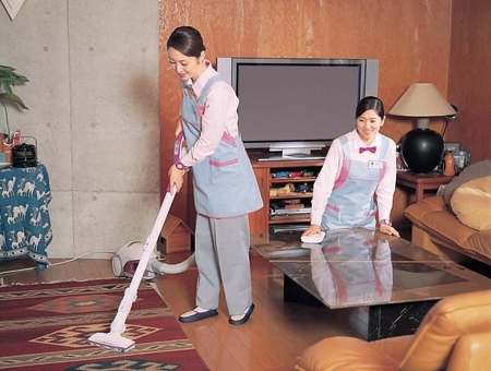 お掃除スタッフ