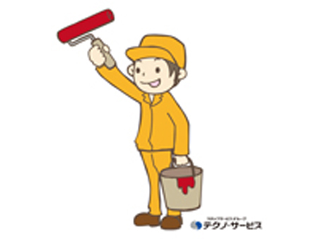 部品の塗装作業[383936]