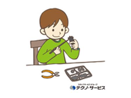 製品の補修、仕上げ[410189]