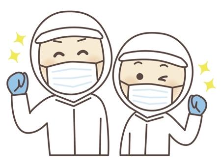 製造補助(製品の運搬・洗浄作業・投入作業)